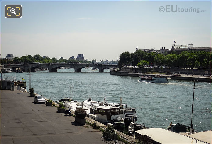 River Seine Alongside Port De La Concorde