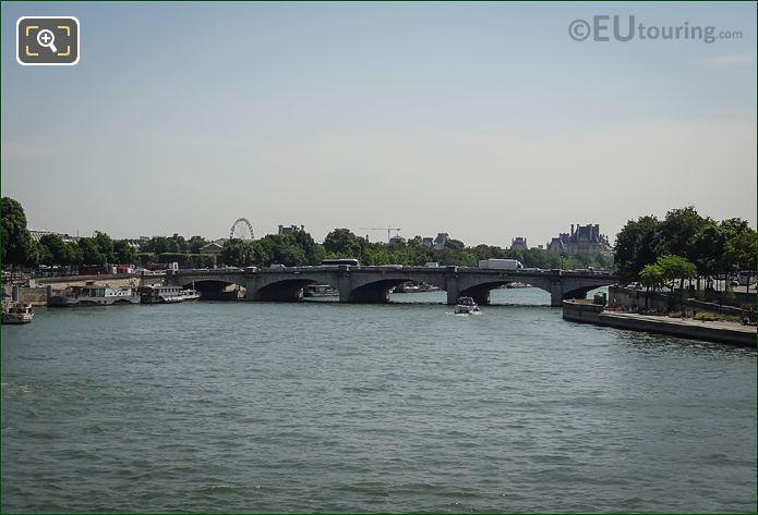 River Seine Pont De La Concorde 7th Arrondissement