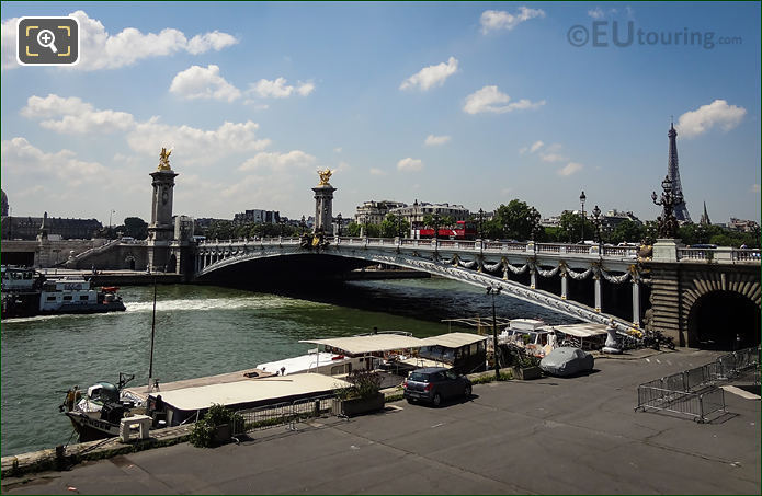 Pont Alexandre III And River Seine Paris