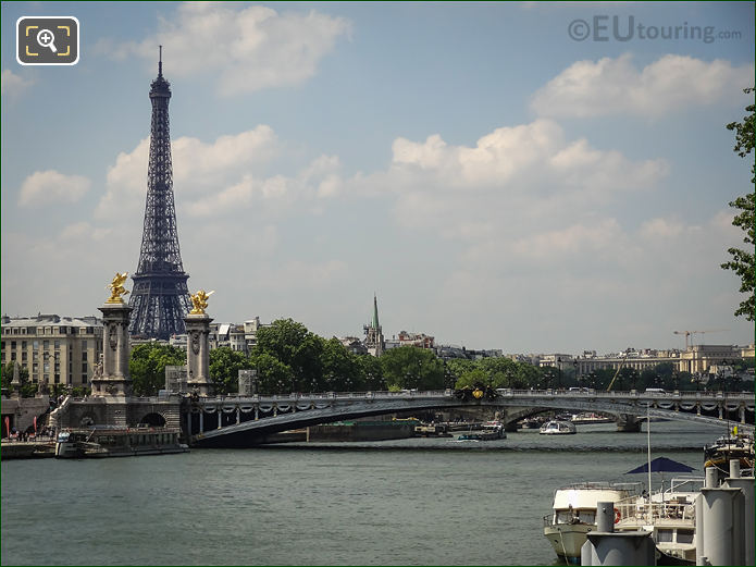 River Seine And Pont Alexandre III