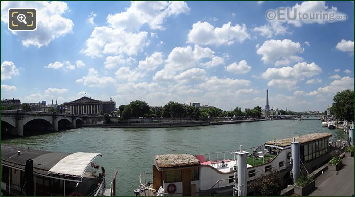 River Seine National Assembly And Pont Alexandre III