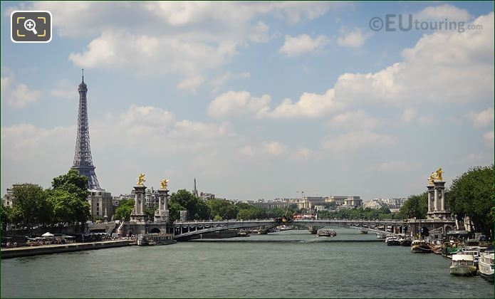 River Seine With Pont Alexndre III
