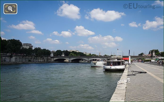 Port De Suffren And The River Seine Paris