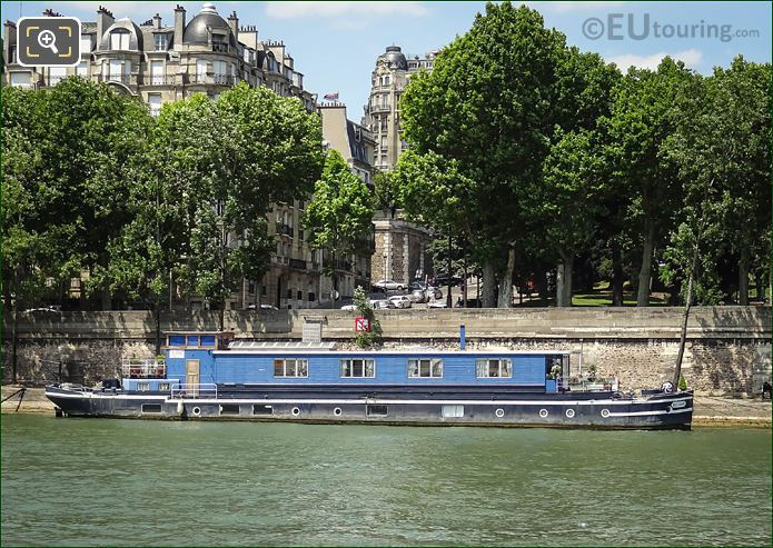 Port Deilly And The River Seine Paris