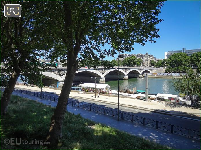 River Seine And Part Of Quai d Austerlitz