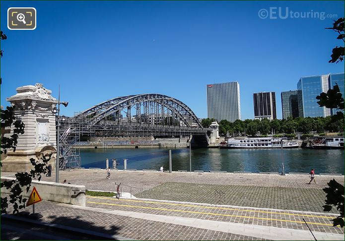 River Seine And Viaduc d'Austerlitz