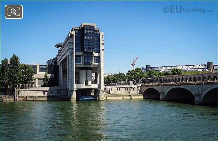 Embarcadere Du Ministere Des Finances River Seine