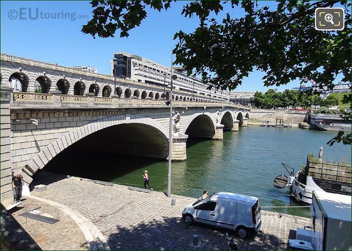 Port De La Gare And The River Seine
