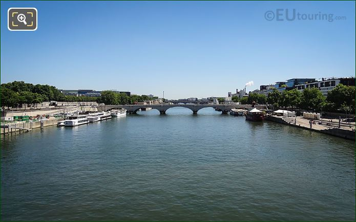 River Seine, Quai Francois Mauriac, Quai De Bercy