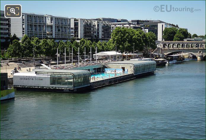 Piscine Josephine Barker River Seine Paris