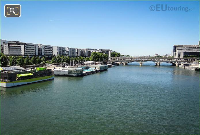 River Seine And Pont De Bercy