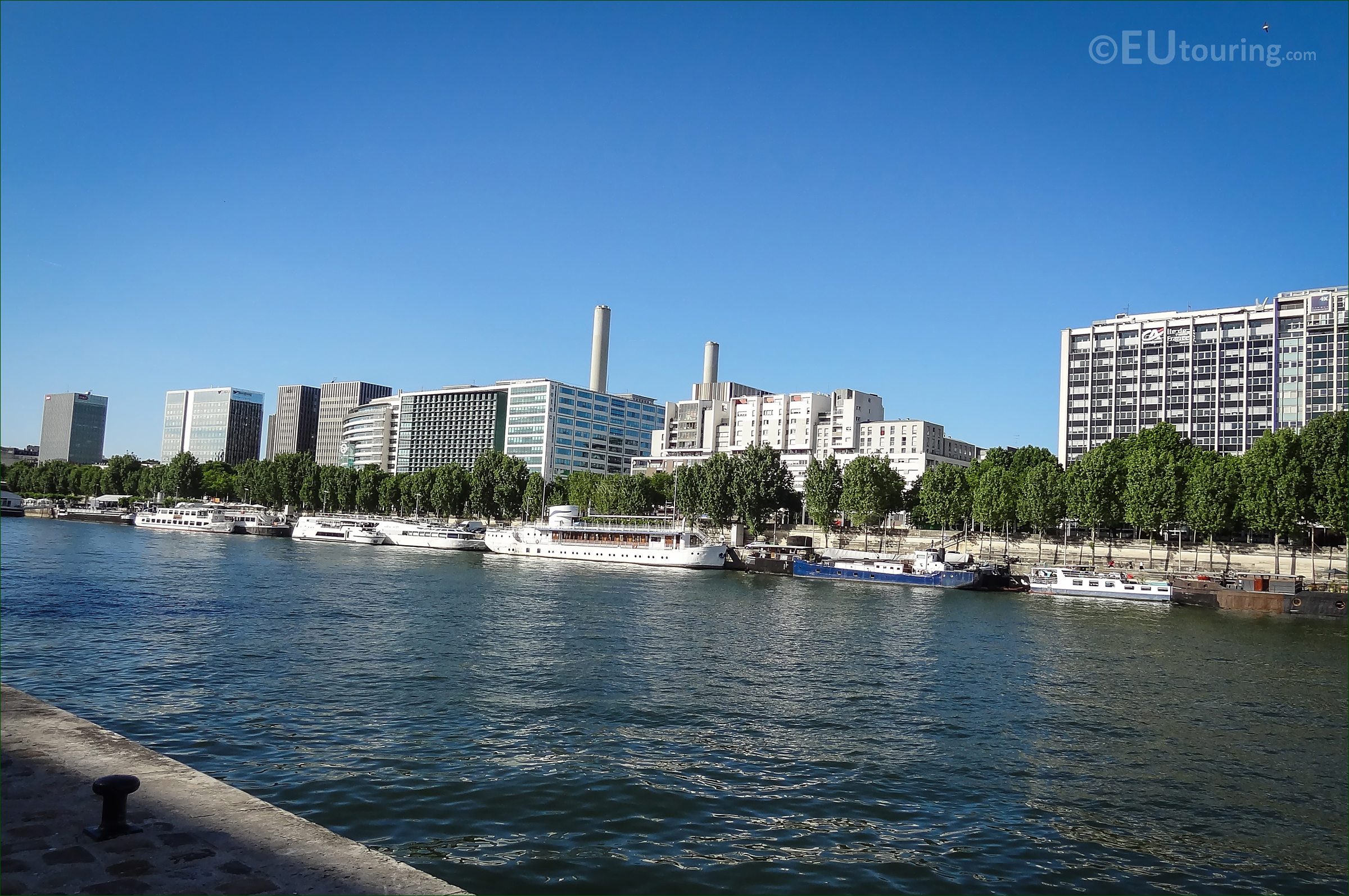 photo of river seine and port de la rapee 12th arron page 114