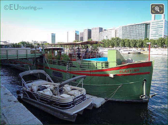Playtime Boat River Seine Paris