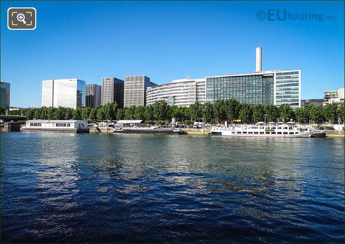 River Seine And Maison De La RATP