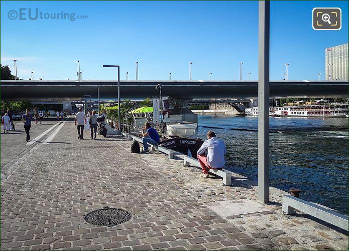 River Seine From Quai d Austerlitz Paris