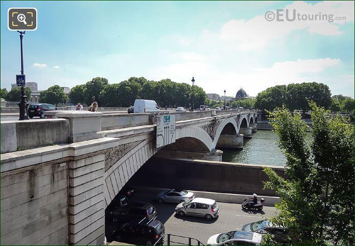 River Seine Flood Barrier Voie Mazas Paris