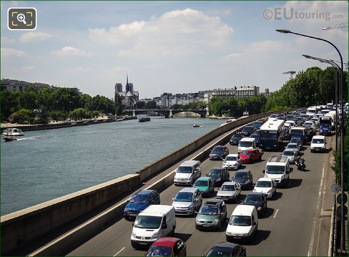 River Seine And Voie Mazas