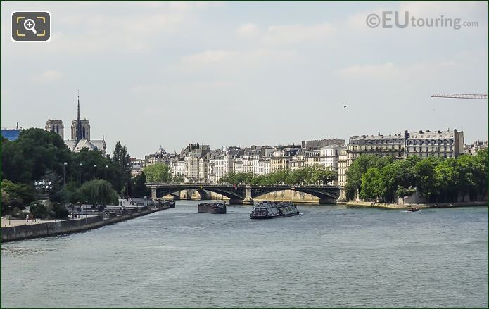 River Seine And Ile Saint-Louis Paris