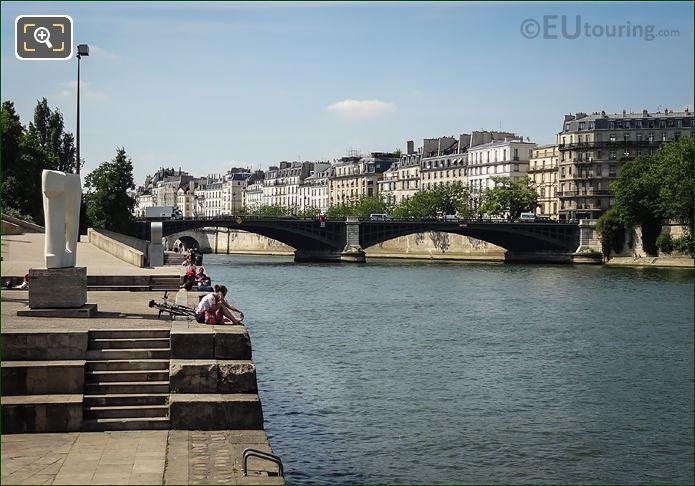 River Seine And Pont De Sully