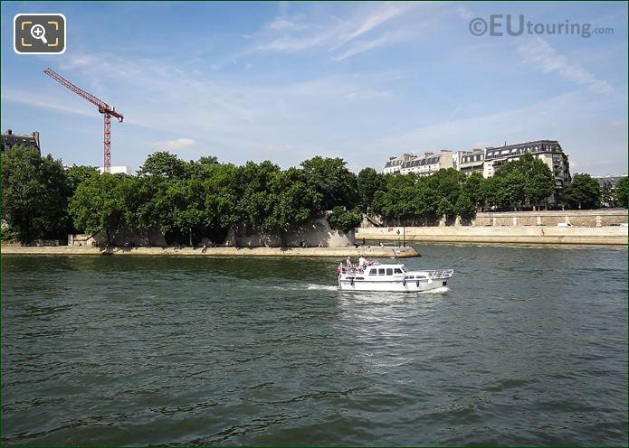 River Seine Eastern End Of Ile Saint-Louis