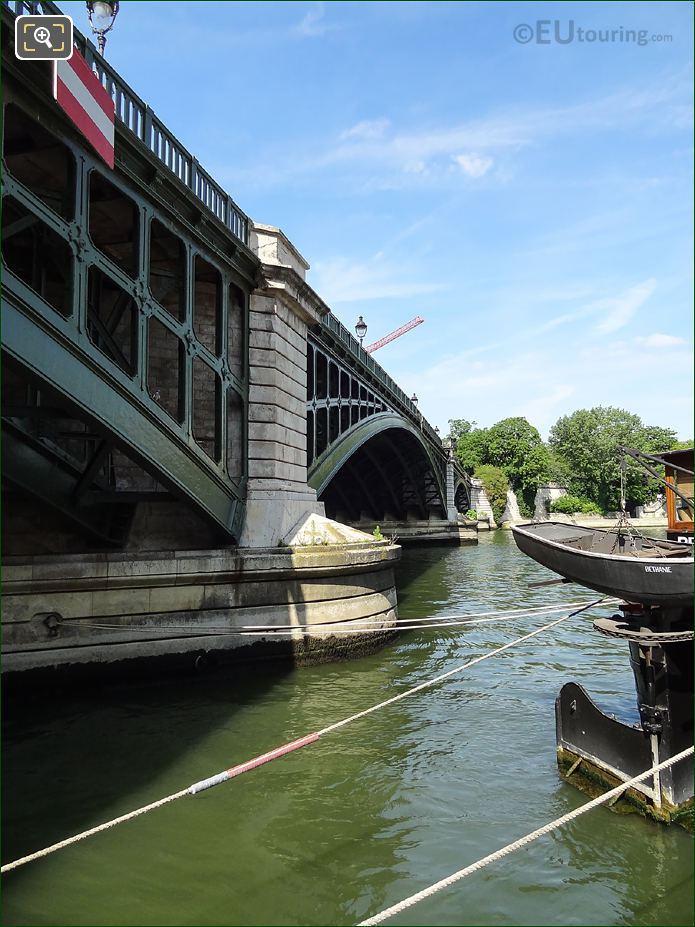 River Seine Under Pont De Sully