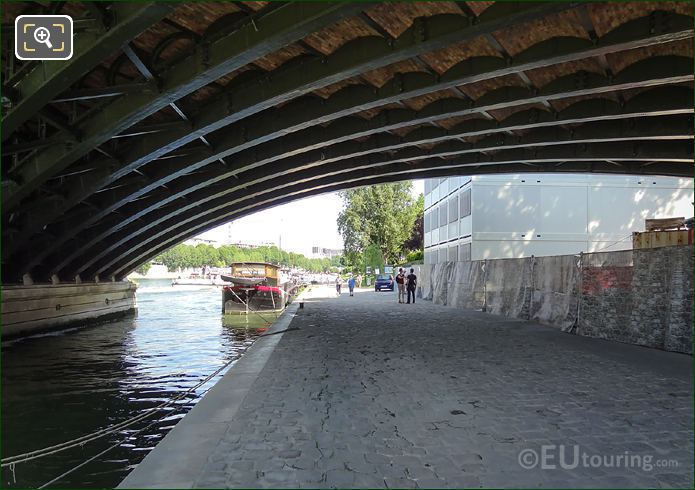River Seine Under The Pont De Sully