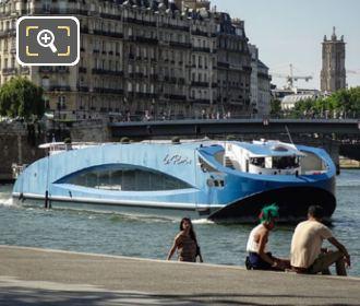 River Seine Cruise Boat Le Paris