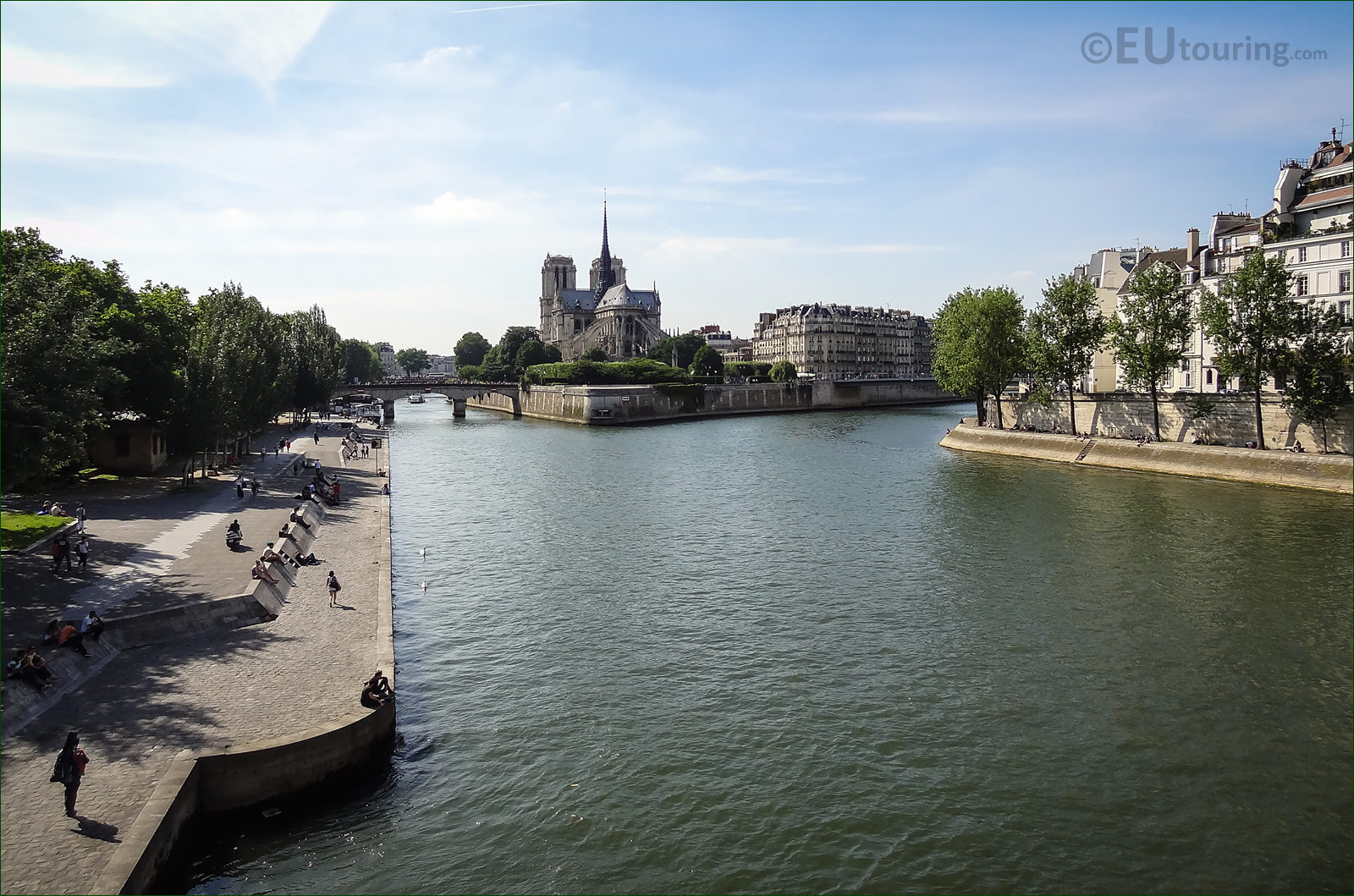 High Definition Photos Of The River Seine In Paris France
