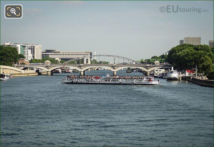 River Seine And The Pont d'Austerlitz