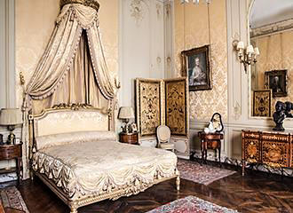 Bedroom At Musee Jacquemart-Andre
