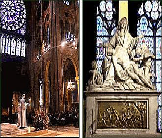 Notre Dame Mass And Services