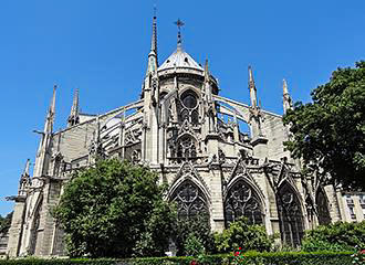 Mass At Notre Dame Cathedral