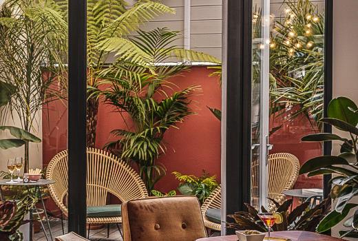 Seven Hotel Paris Bar Lounge