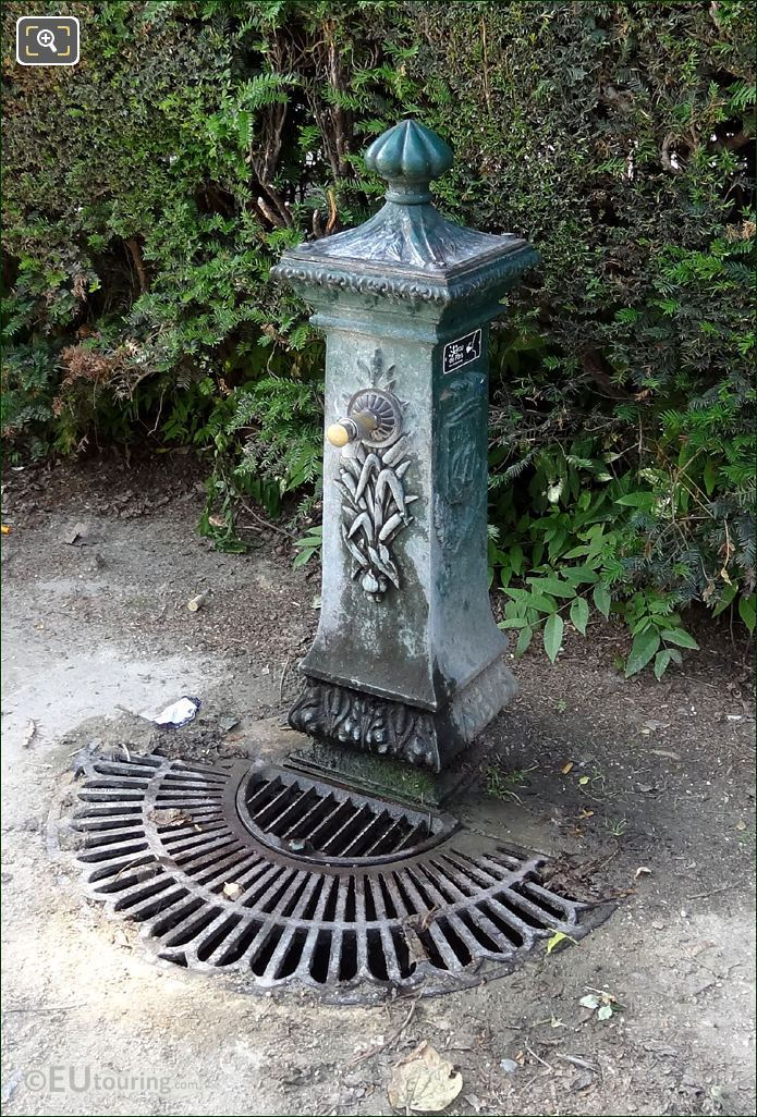 Square Barye Wallace Drinking Water Fountain