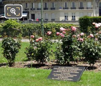 Square de L'Ile-de-France Rose Garden