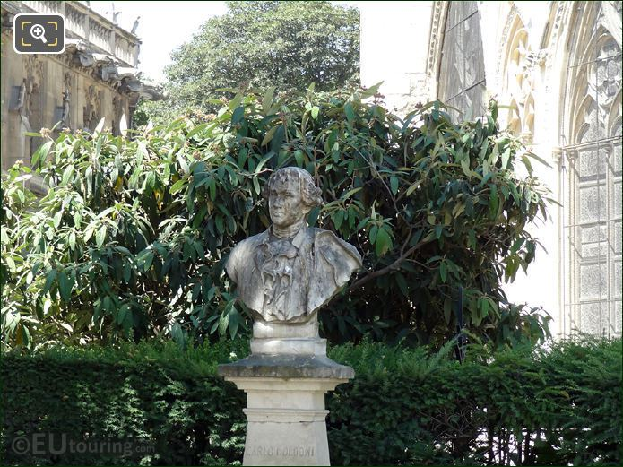 Carlo Goldoni Bust In Square Jean XXIII