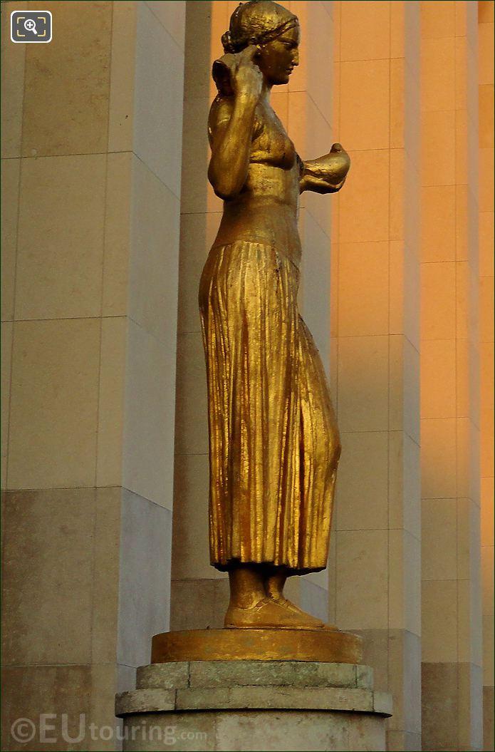 Palais De Chaillot La Jeunesse Statue