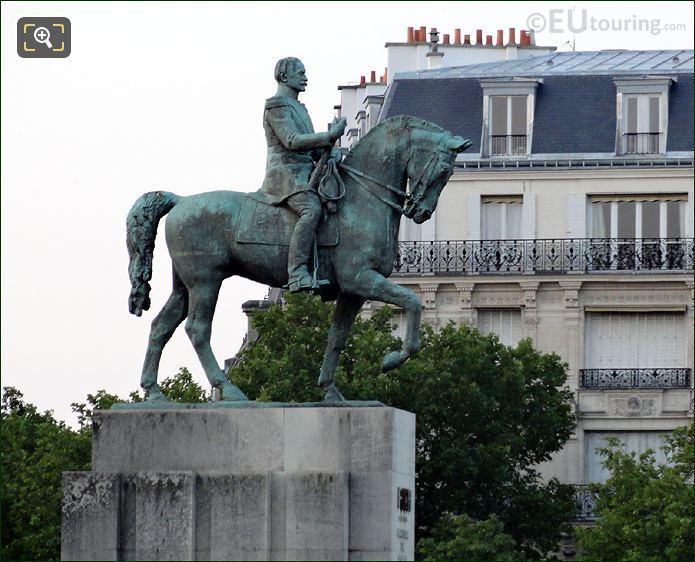 Statue Of Marechal Foch In Paris