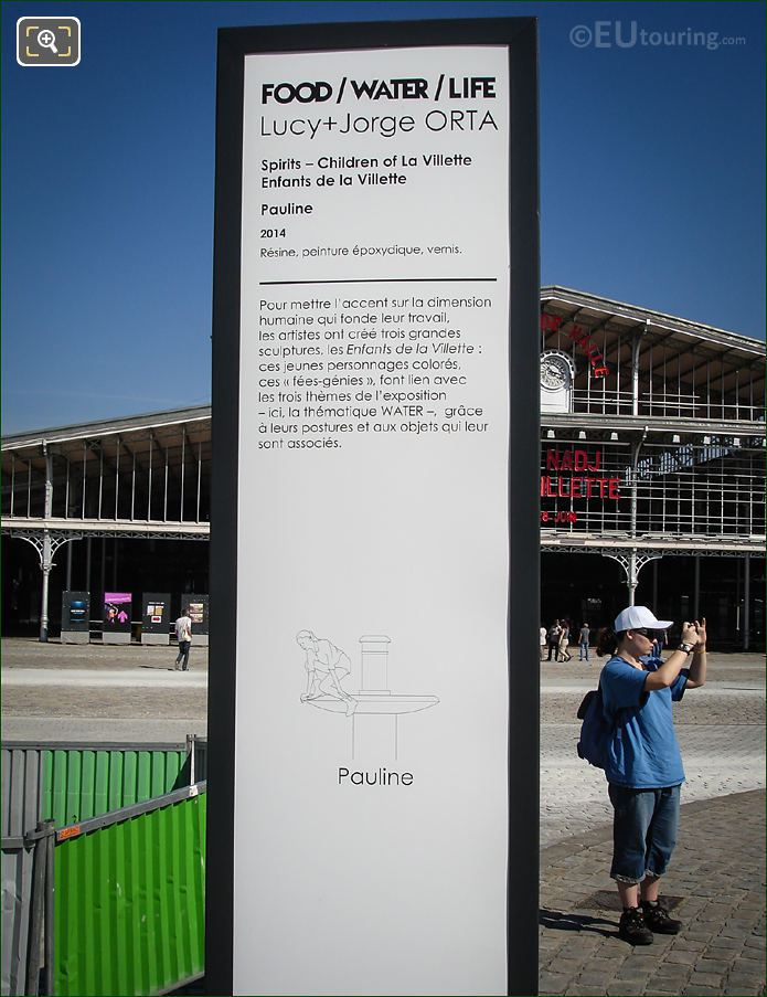 Information Board For Pauline Sculpture