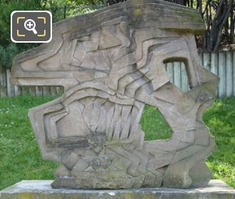 Erwin Patkai Concrete Weapons Sculpture