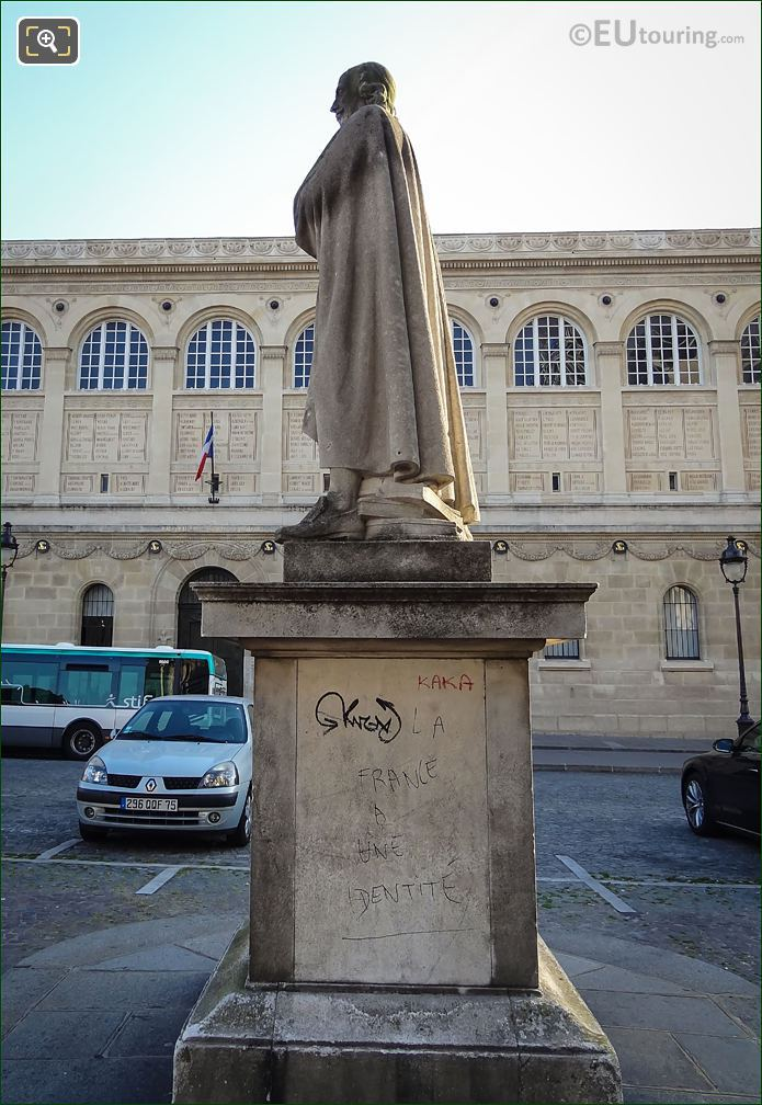 Pierre Corneille Statue Place Du Pantheon Paris