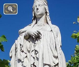 Sainte Clotilde Statue By Jean Baptiste Klagmann