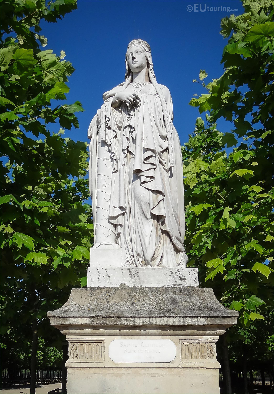 Photos of 1847 sainte clotilde statue in jardin du luxembourg page 409 - Statue jardin ...