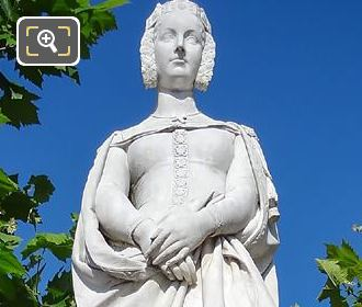 Marguerite De Provence Statue By Honore Husson