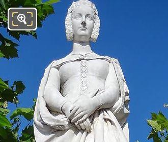 Marguerite De Provence Statue By Honore Husson