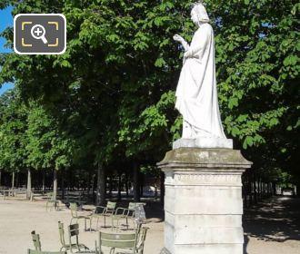 Anne De Bretagne Statue Jardin Du Luxembourg