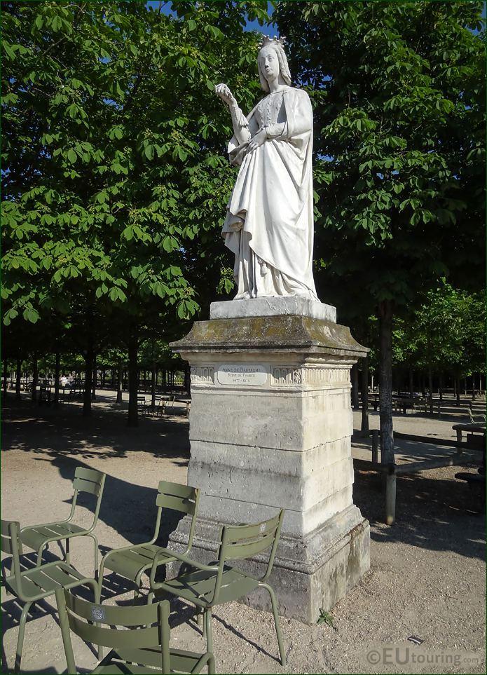 1846 Statue Anne De Bretagne By Jean Debay