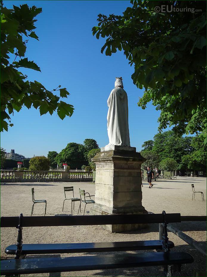 Back Of Anne De Bretagne Statue