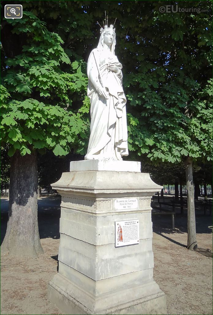 Queen Of France Statue Blanche Of Castile