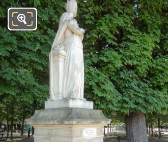 Luxembourg Gardens Statue Anne De Beaujeu